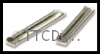 Peco SL-10 Rail Joiners, for bullhead rail (code 124), nickel silver